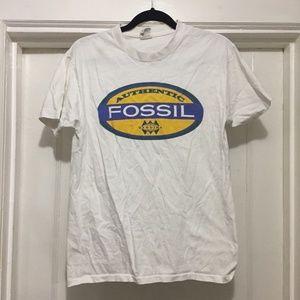 Vintage Single Stitch Fossil T-Shirt Size Medium